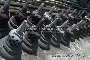 Miniatur Stupa Candi Borobudur