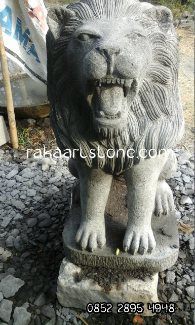 Patung Singa Borobudur