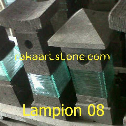 Lampion Taman Batu Alam