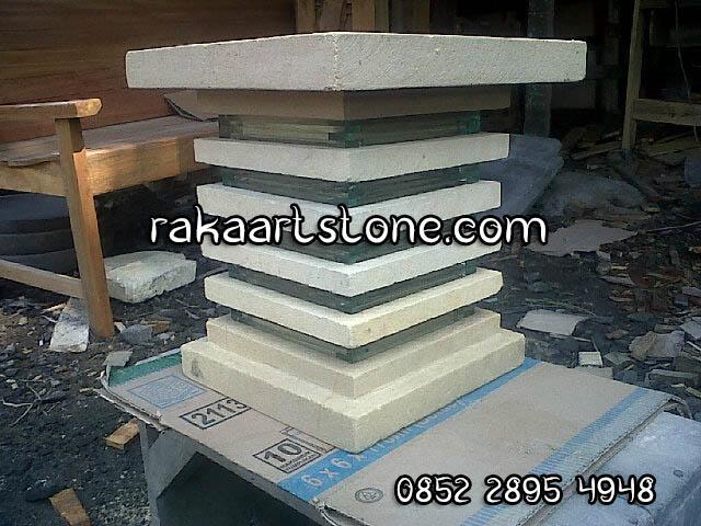 Batu Paras Putih Jogja