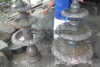 air mancur batu alam - raka art stone muntilan