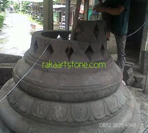 Proses Pembuatan Stupa Candi Borobudur