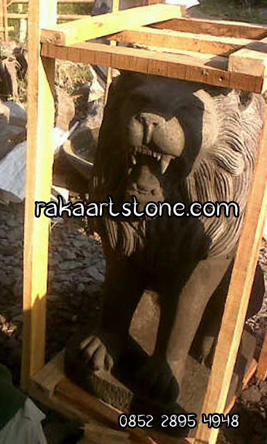 Patung Singa Sudah Dipacking